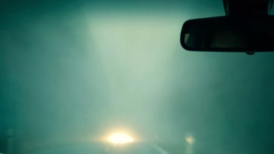 Fog has reduced visibility on local roads and caused delays at Lansing area schools this morning.