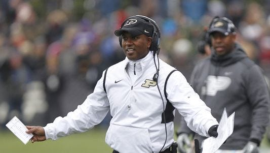 Darrell Hazell has openings to fill on his coaching staff.