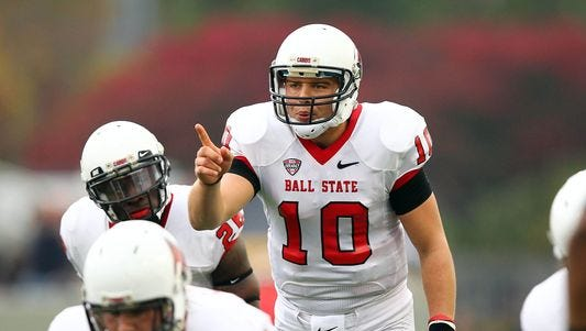 Former Ball State QB Keith Wenning could start for the Bengals on Sunday.