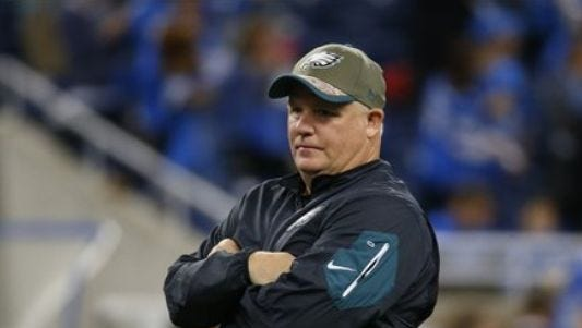 Former Eagles coach Chip Kelly