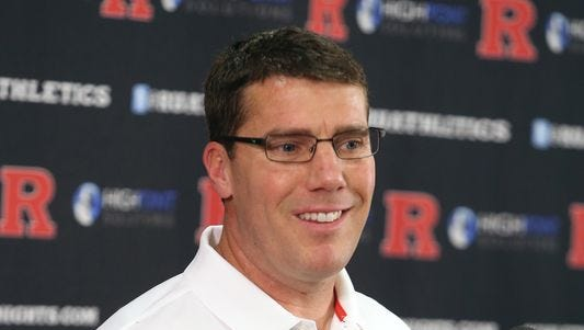 Rutgers coach Chris Ash is hitting the recruiting trail for the first time representing the Scarlet Knights.