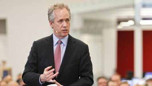 Mayor Greg Fischer said Care Innovations LLC's move to downtown and the addition of 24 good-paying jobs strengthens the city's growing health and aging care business cluster.