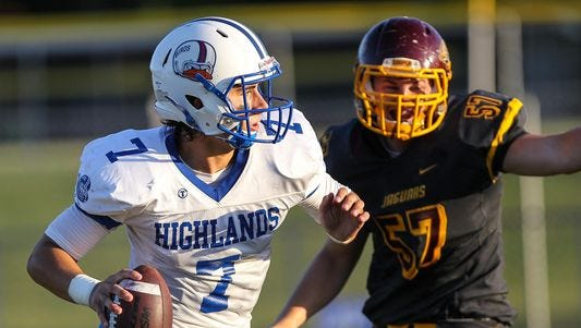 Highlands' Austin Hergott is the only Northern Kentucky athlete to sign with a Division I school, Central Michigan University.