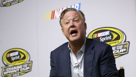 "NASCAR chairman Brian France announced a plan designed to ""promote a more predictable, sustainable and valuable team business model,"" in the NASCAR Sprint Cup Series."