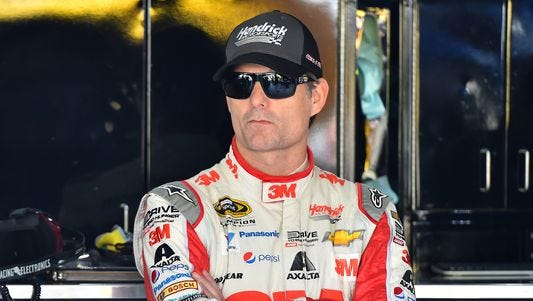 Jeff Gordon says he plans to base any criticism of peers to facts on the track and not speculation.