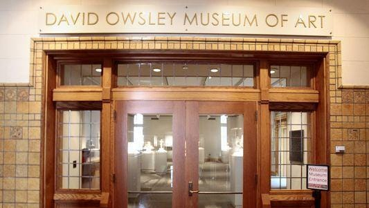 The David Owsley Museum of Art is located in the Fine Arts building on the campus of Ball State University in Muncie, Ind.