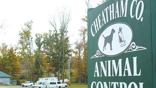 Cheatham County Animal Control.