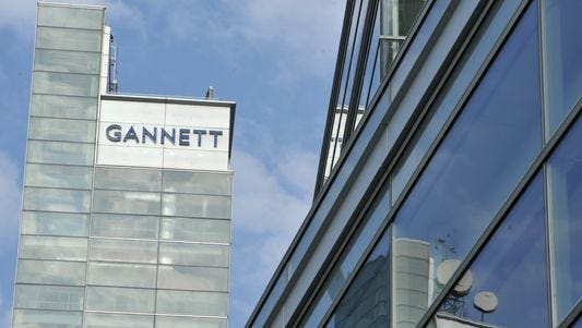 Gannett headquarters building in McLean, Va.