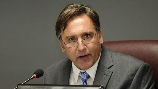 Williamson County Director of Schools Mike Looney says he's disappointed to administer state high school tests after several challenges from TNReady, this year's new state assessment.