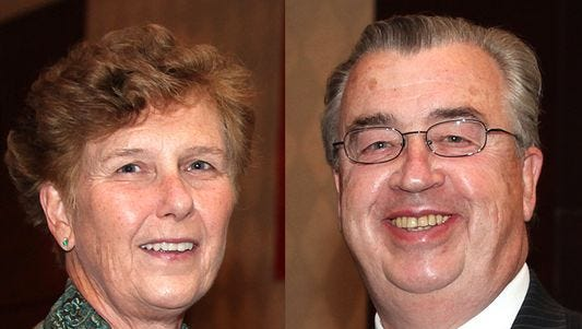 A Somerset County detective has criticized the investigation into the September 2014 deaths of John and Joyce Sheridan.