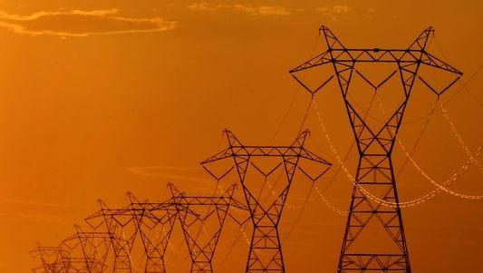 High-voltage electric transmission lines