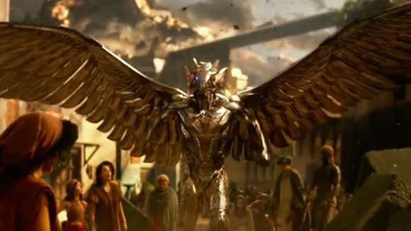 """CGI gods tower above mortals in """"Gods of Egypt"""""""