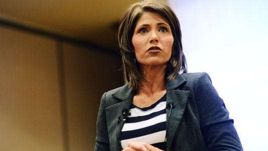 Rep. Kristi Noem is calling for the Indian Health Service to leave the health care business.