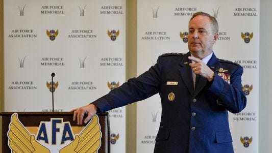 During a May 28 Air Force Association meeting in Arlington, Va., Chief of Staff Mark Welsh said that to meet future requirements with full manning, the Air Force would need 40,000 to 60,000 more airmen. In an interview with Air Force Times, Welsh acknowledged that is unlikely. In the near term, he said, he would like manning to increase to 324,000 airmen.