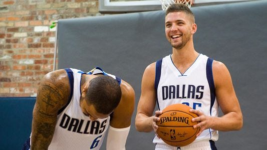 Chandler Parsons (right) could be wearing a different uniform next season.
