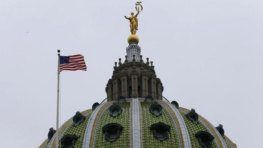 The Harrisburg State Capitol will be the site of budget negotiations this weekend.