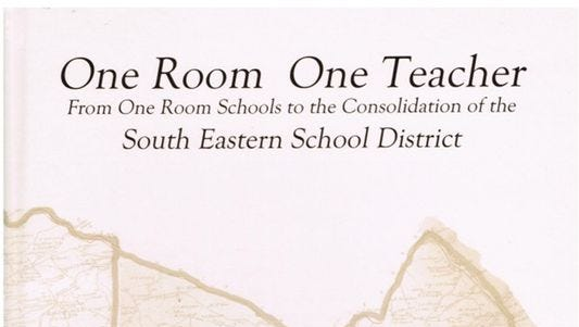 A new book on one-room schools in York County is just out.