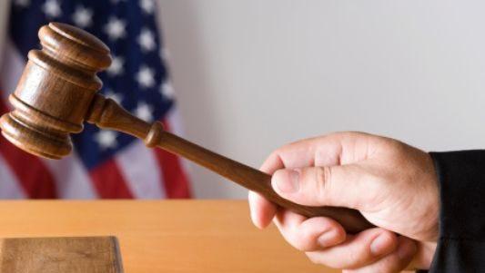 Judge's gavel.