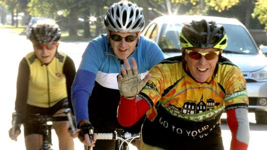Registration for the Tour de Livingston begins at 7 a.m. Sunday.