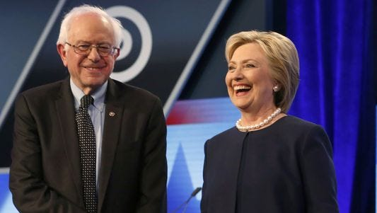 Sen. Bernie Sanders will campaign for former Democratic rival Hillary Clinton in Cincinnati Thursday.