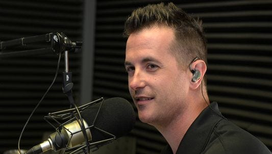 Jason Fitz, former fiddle player for The Band Perry and current local sports talk call-in radio show host, will join Jordan Rodgers for a new weekly ESPN radio show beginning in February.