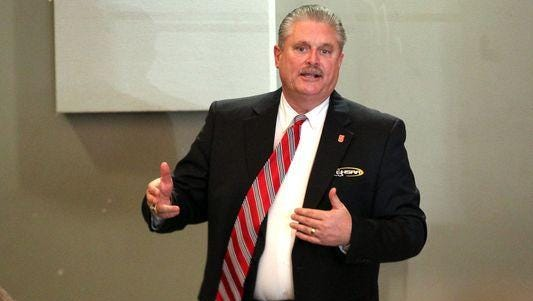 Bonine replaced Kenny Henderson as LHSAA Executive Director in 2014 during a controversial time in the association's history.