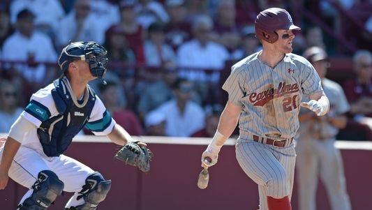 North Buncombe alum Alex Destino is a junior for the South Carolina baseball team.