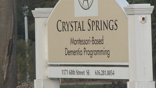Kathryn Brackett, 85, was found dead Oct. 27, 2016, outside the Crystal Springs Assisted Living Center.