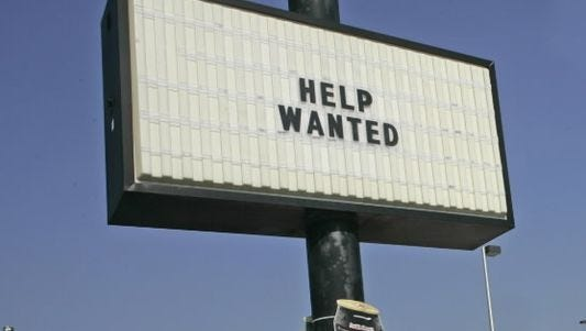 Wisconsin's unemployment rate in November was 3 percent.