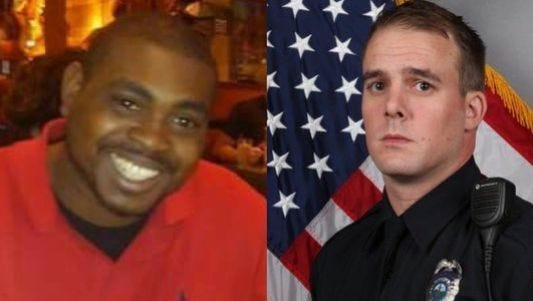Jocques Clemmons, 31, left, was fatally shot Feb. 10 by Nashville police officer Joshua Lippert.
