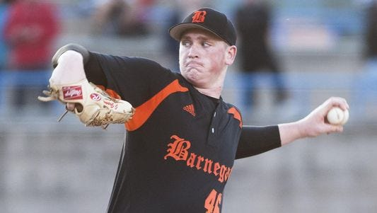 Barnegat native Jason Groome is working his way back to the starting rotation with Single-A Greenville Drive.