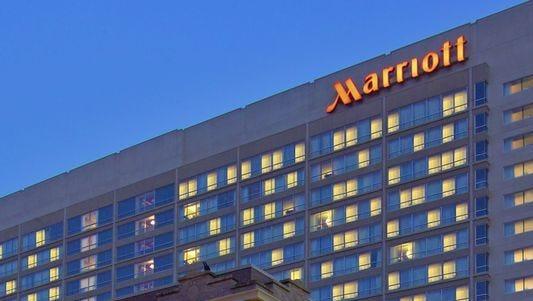 A Marriott hotel.