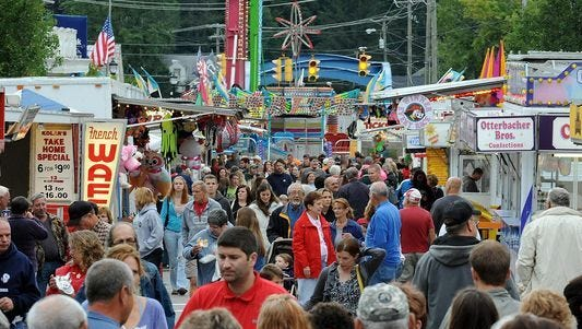 The Bellville Street Fair regularly draws elbow-to-elbow crowds.
