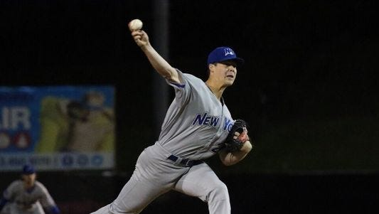 Chenango Valley graduate Justin Topa was recently signed by the Texas Rangers and assigned to their Double-A affiliate in Frisco.