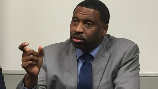 Derrick Johnson, president and CEO of the NAACP.