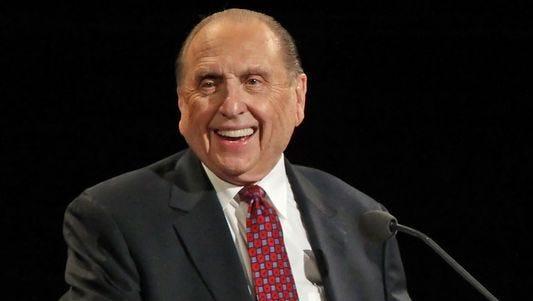 LDS Church President Thomas S. Monson died Jan. 2, 2018.