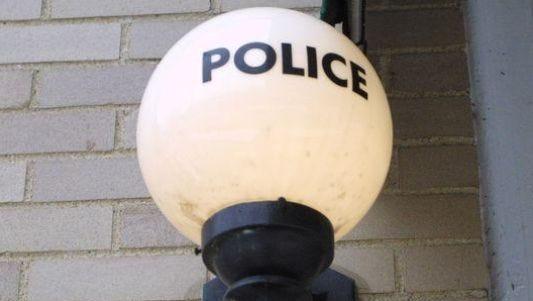 A police light.
