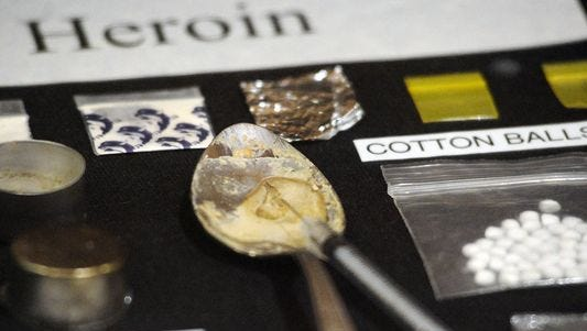 The Brown County Medical Examiner's office has two confirmed heroin deaths so far this year, with one pending.