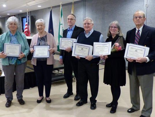 FRM volunteer awards