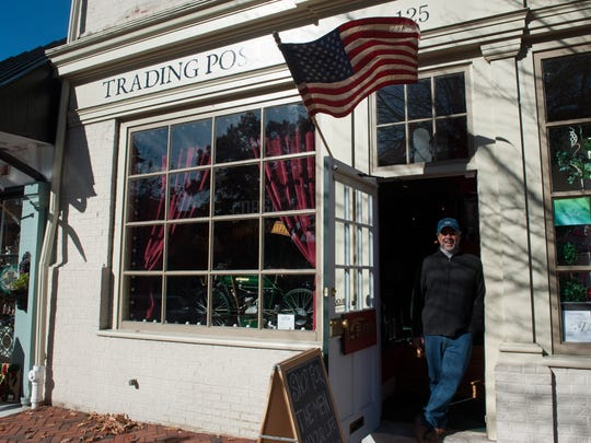 Mitch Gorshin, owner of Gorshin Trading Post in Haddonfield, says he has wanted to have a store since childhood.
