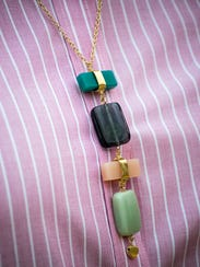 Noonday Sea Change necklace. The company supports artisans