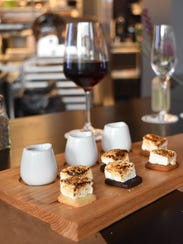 Customers can order s'mores off the Vanillamore desert