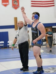 Amherst season Max Villnow capped off his high school