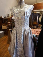 In a March 30, 2018 photo, Dresses from Erin Sigl and