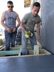 Dyess We Care Team volunteers Airman 1st Class Dustin