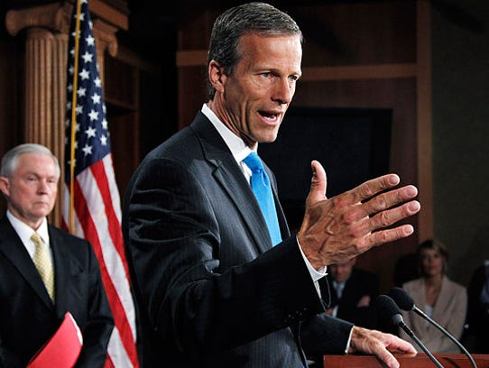 John Thune is one of the major players as the Senate