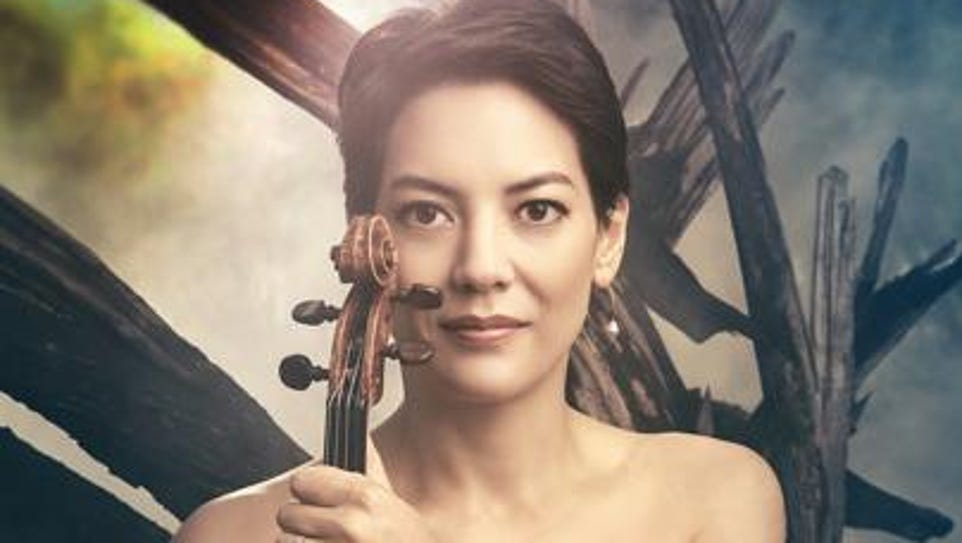 Anne Akiko Meyers performs with the Monterey Symphony