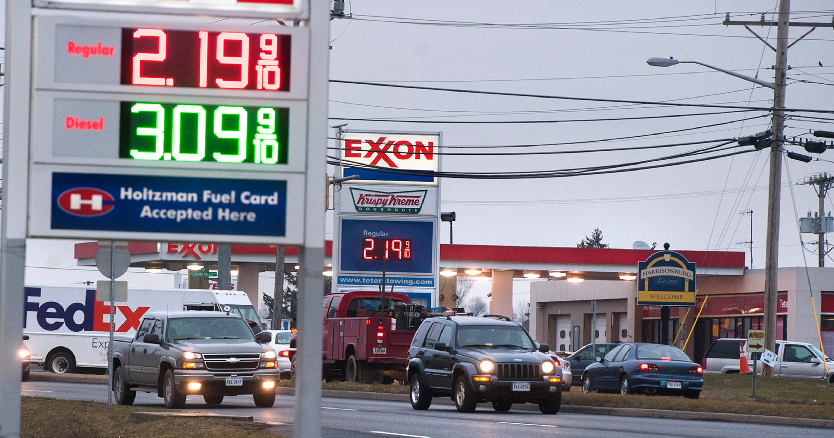 Diesel fuel still costly despite fall in gas prices