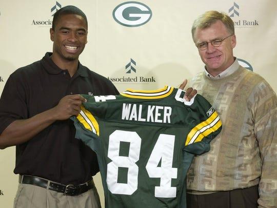 Javon Walker, left.