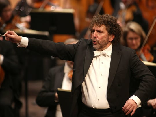 Guest conductor Asher Fisch leads the Milwaukee Symphony in Tchaikovsky's Fourth Symphony Friday night.